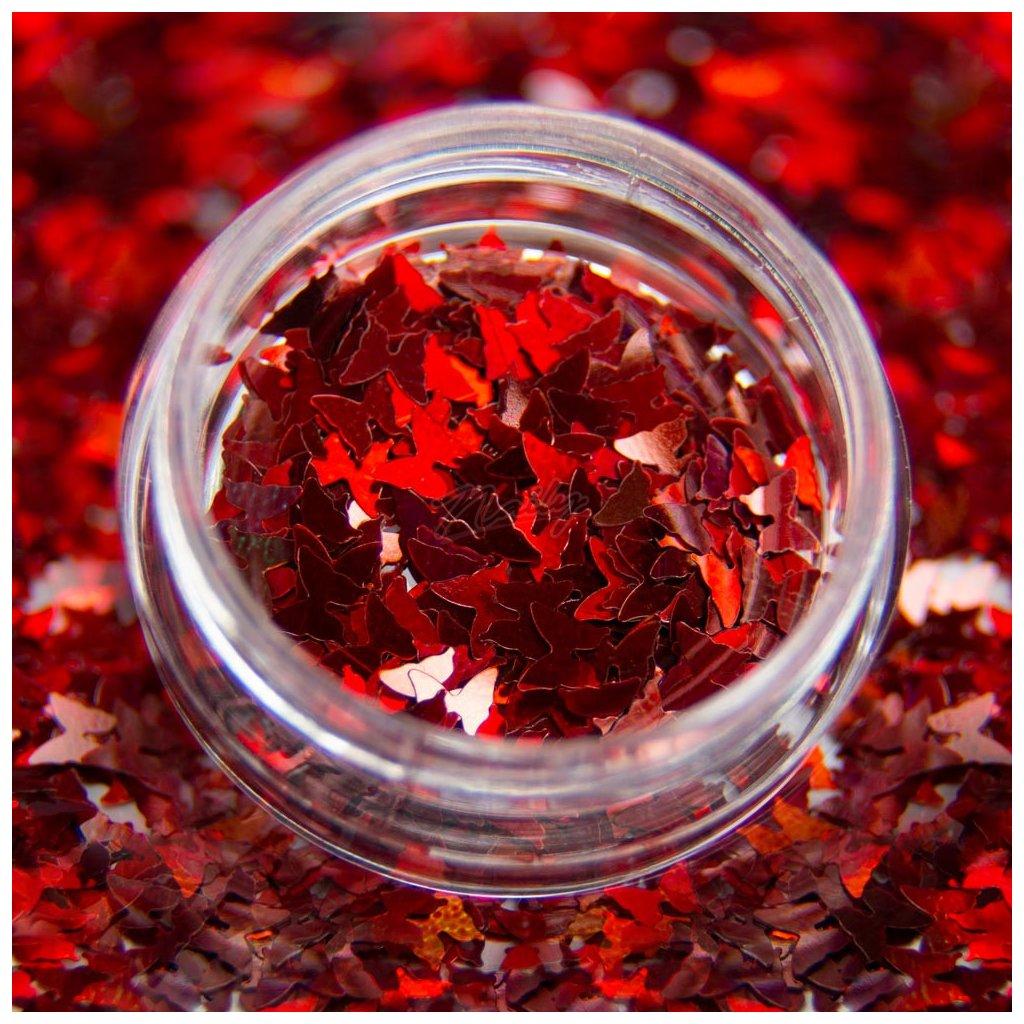 cervene motyliky