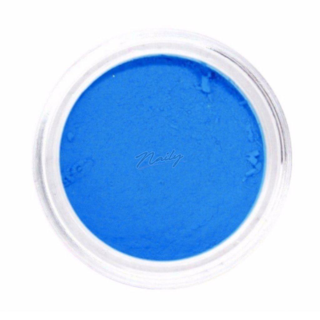 Neónovo modrý pigmentový prášok na nechty