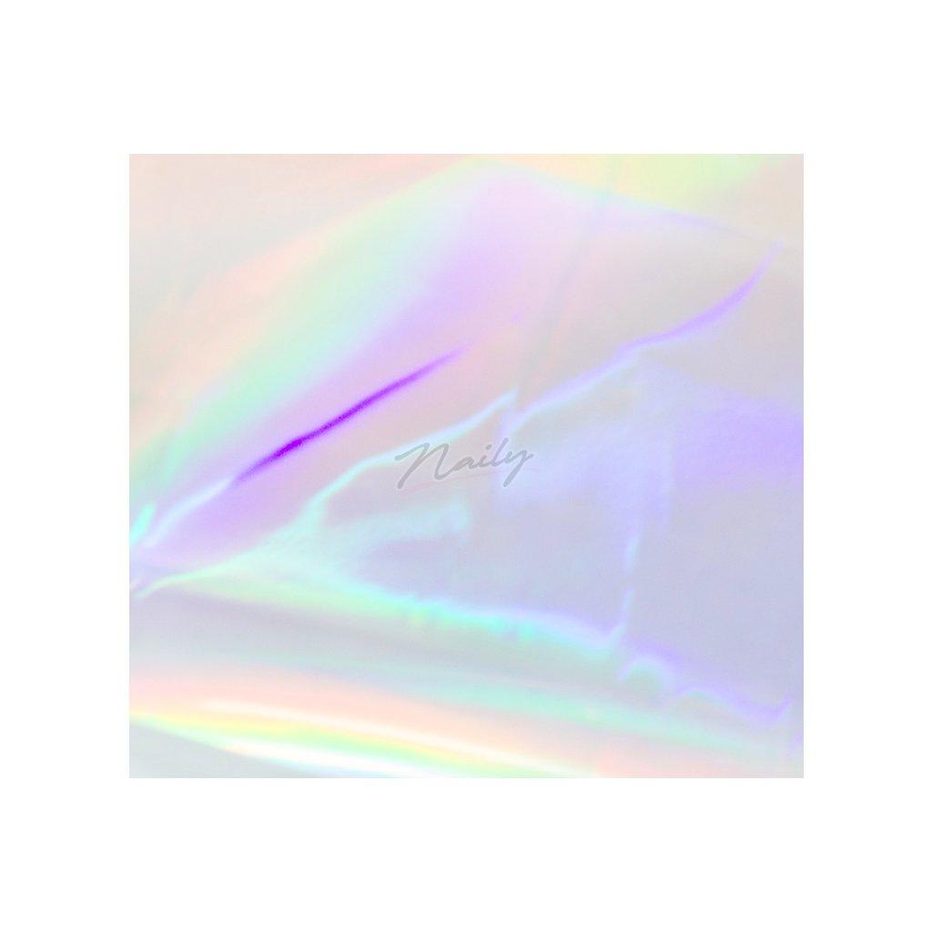 Priehľadná holografická fólia na nechty