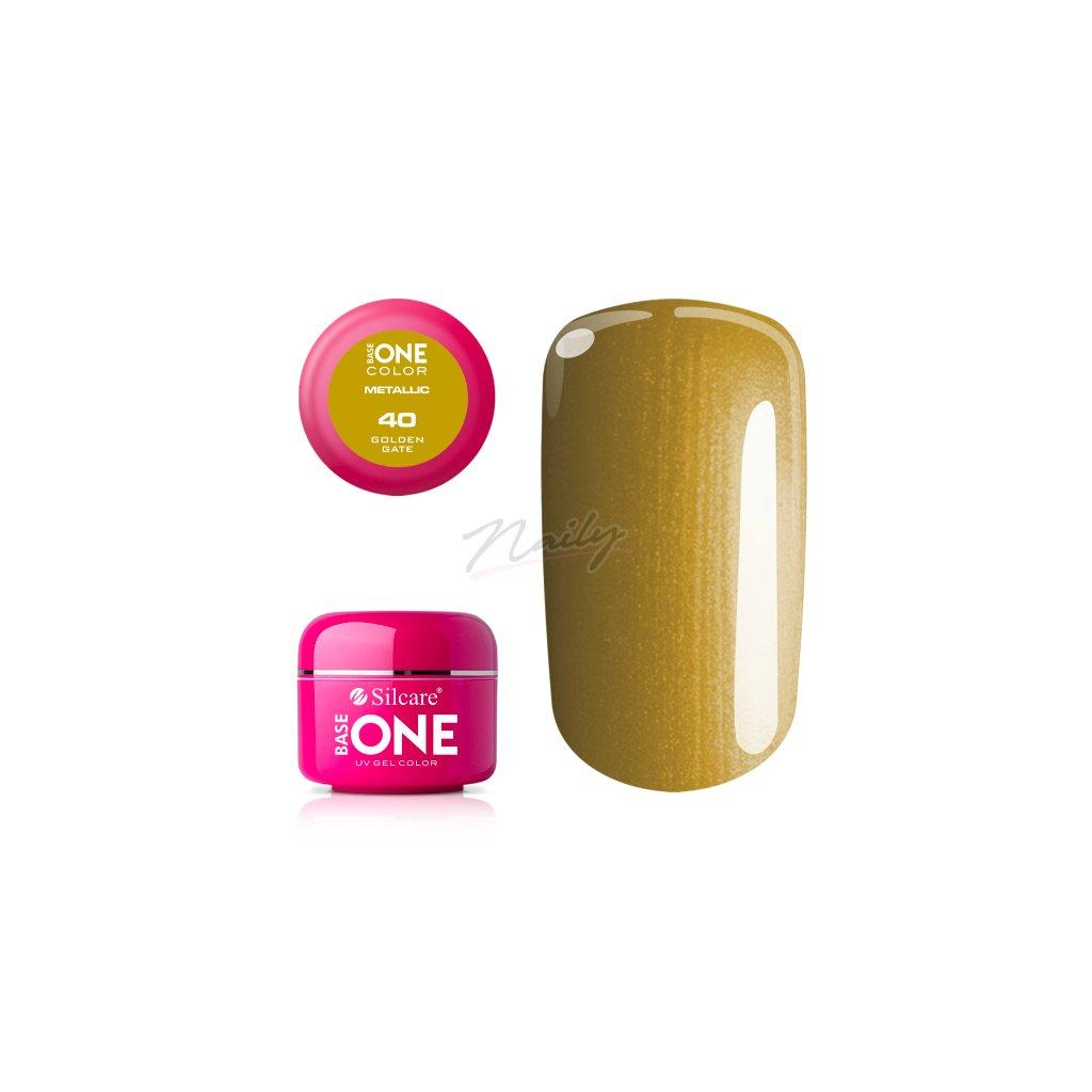 base one mettalic golden gate