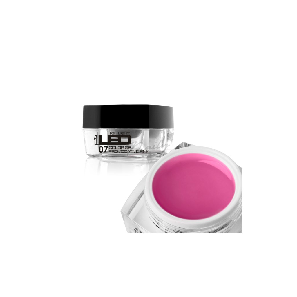 High light led gel 07 provocative pink