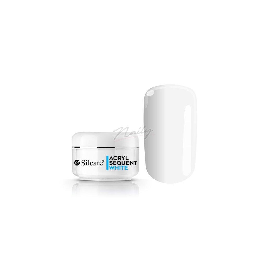 Akrylový prášok sequent ECO Pro White 12g