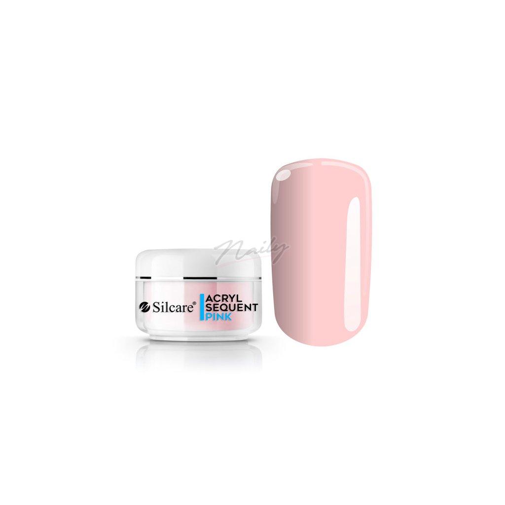 Akrylový prášok Sequent ECO Pro Pink 12g