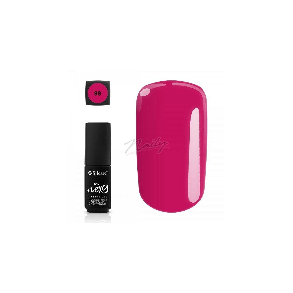 Kvalitný ružový gél lak na nechty.