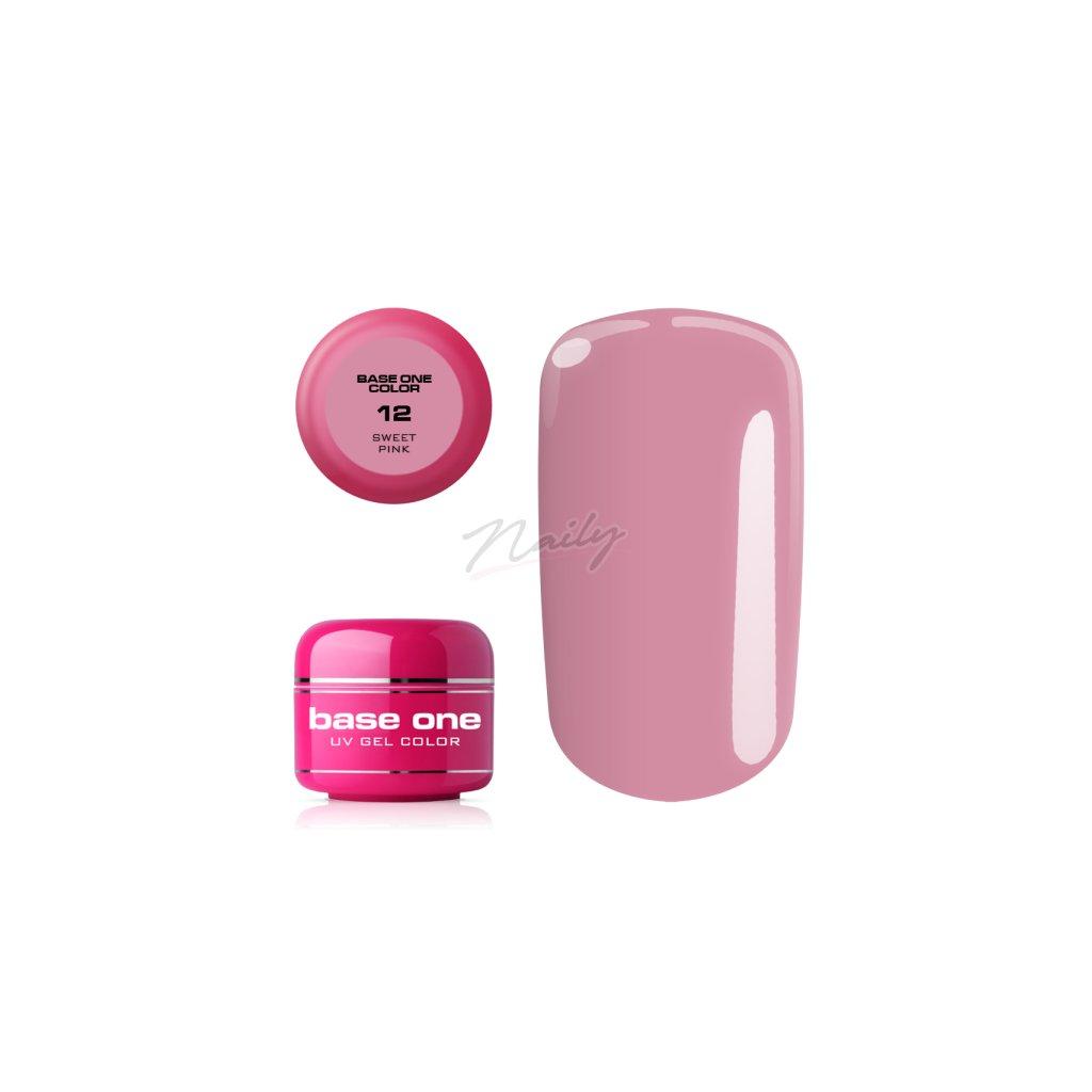 Svetlo ružový UV gél na nechty.