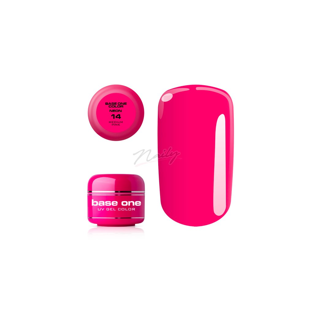 base one neon 14 medium pink