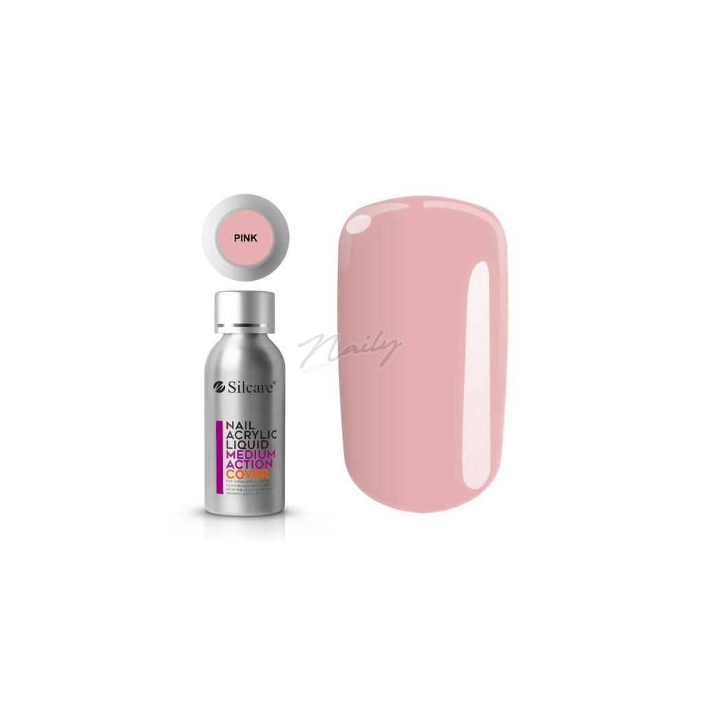 ružový akryl liquid