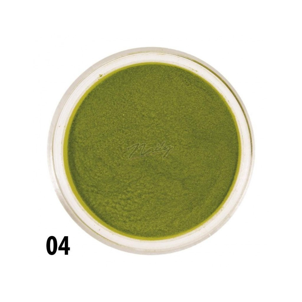 zeleny akrylový prasok