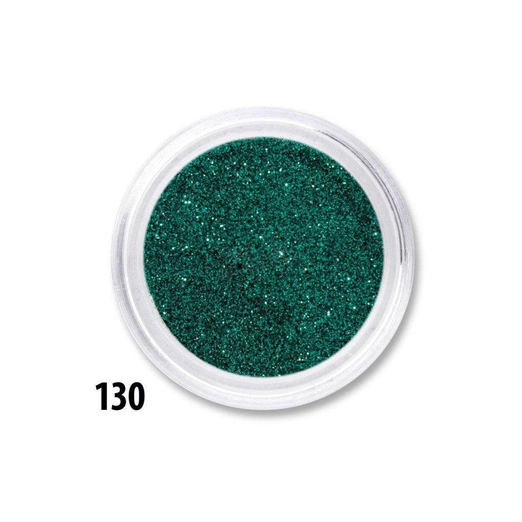 tmavo zelene glitre