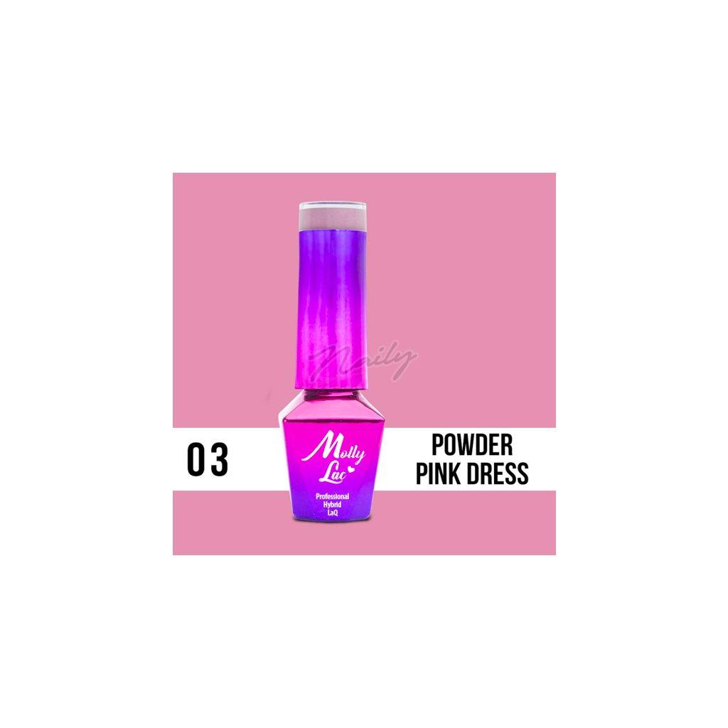 Powder Pink Dress 5ml Nr 3