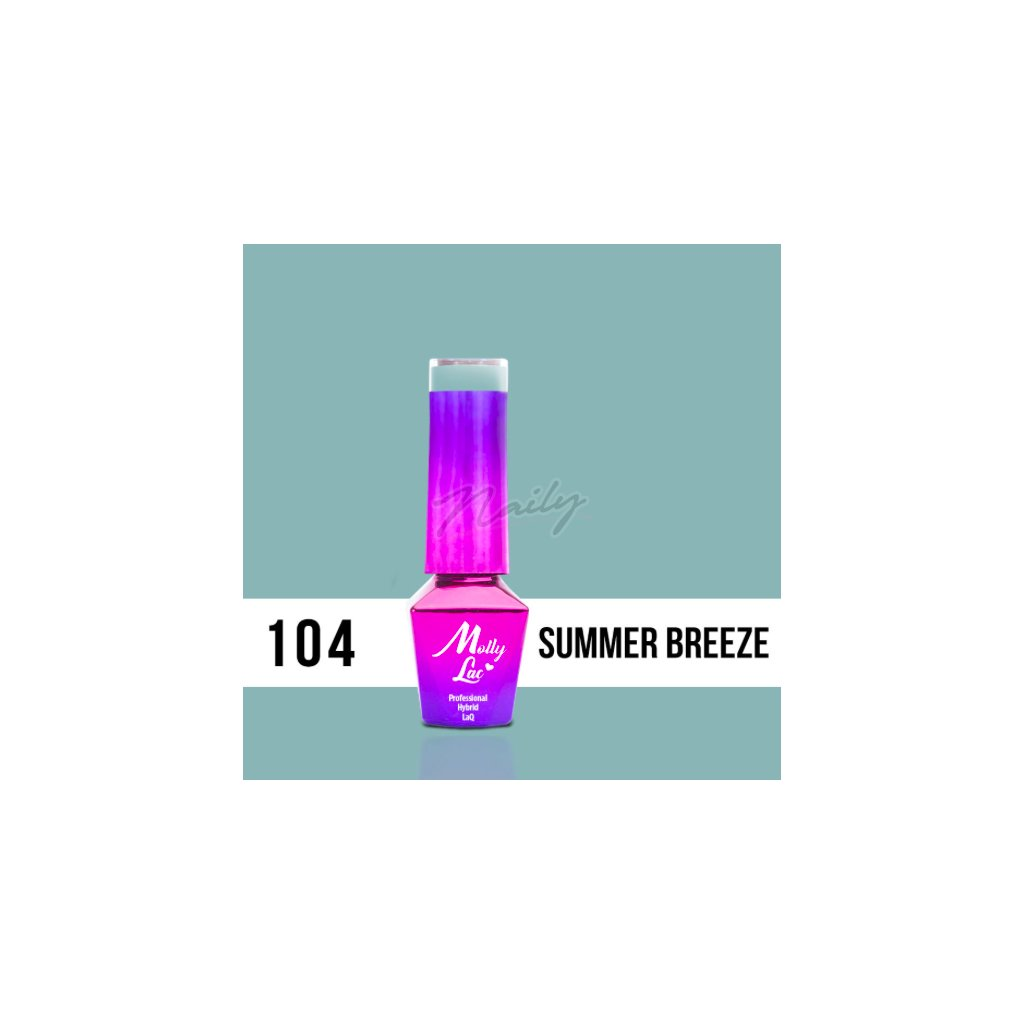 Molly Lac Pure Nature Summer breeze 5ml Nr 104