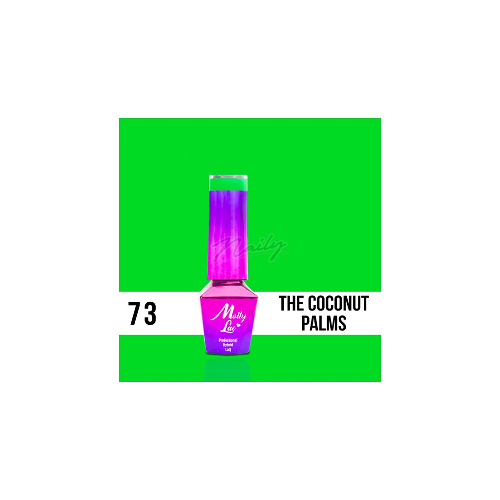 Molly Lac Women in Paradise The Coconut palms 5ml Nr 73