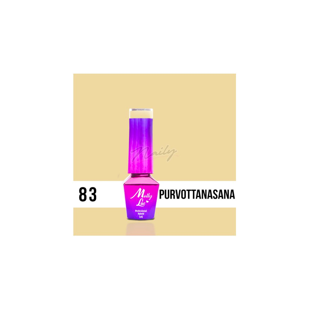 Molly Lac Yoga Purvottanasana 5ml Nr 83
