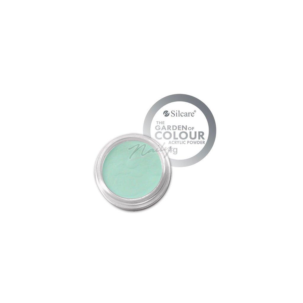modrý akrylový prášok