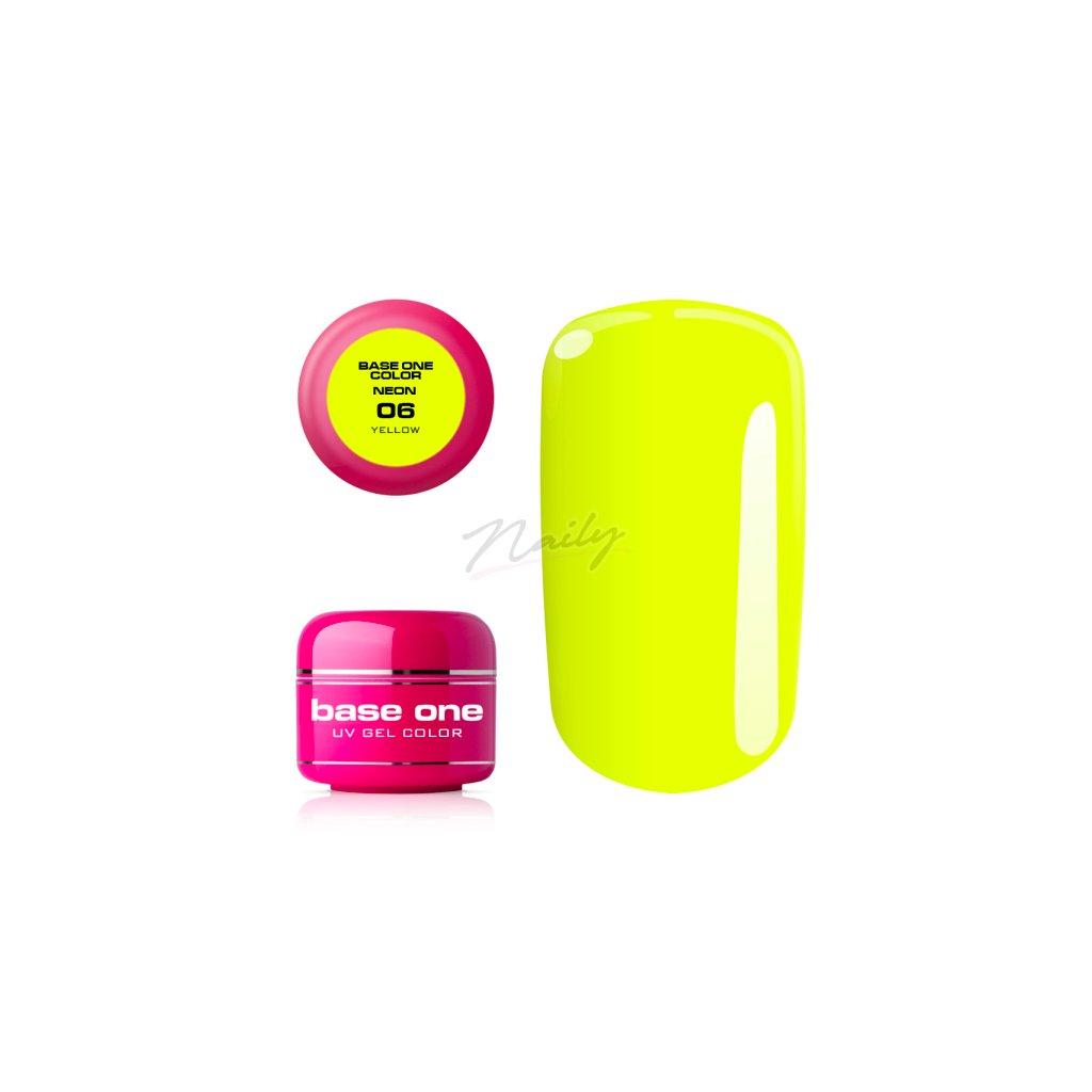 base one neon 06 yellow