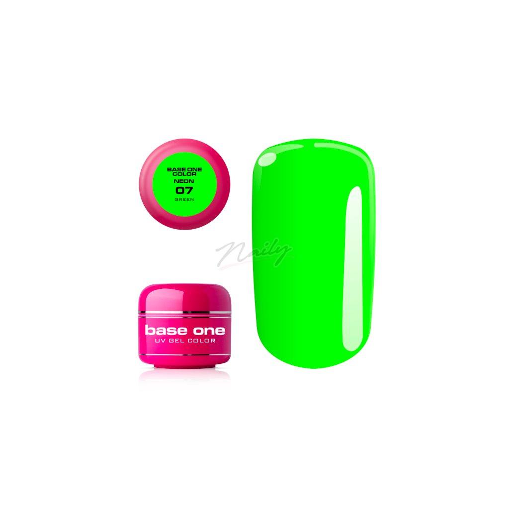 base one neon 07 green