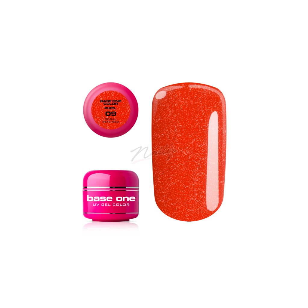 base one coral red
