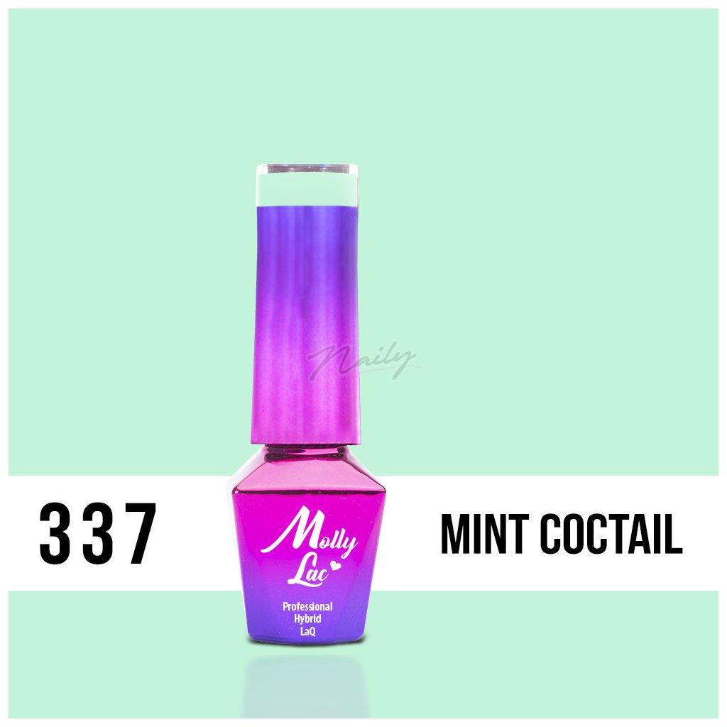 mollylac fancy fashion mint coctail 5ml nr 337