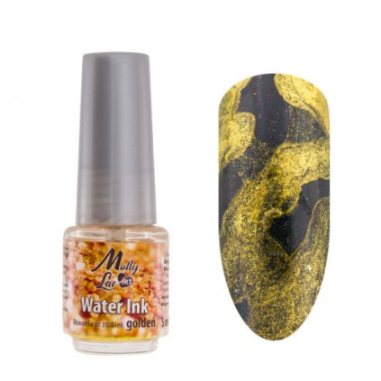 molly lac water ink gold