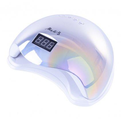 Modrá hologracká Lampa Molly Lac 5 UV:LED 48W 9