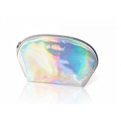 Štýlová holografická kozmetická taška.