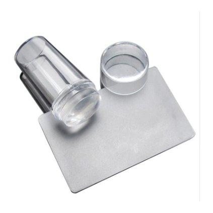 Číra silikónová pečiatka na zdobenie nechtov (2)