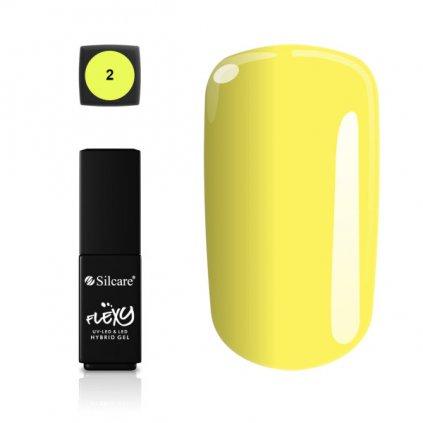 žltý gél lak na nechty