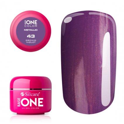 Base One Color Metallic 43 Orchid Violet