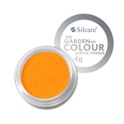 oranžový akrylový prášok