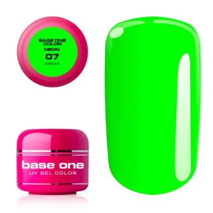 base one neon 07 green