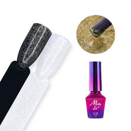 Top no wipe Hollywood MollyLac Star 5ml Gold