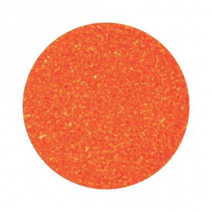 Oranžové glitre na nechty