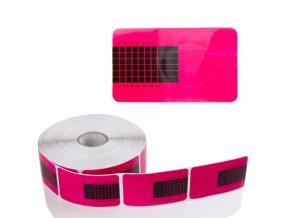 Šablóny na modelovanie nechtov ružové 50ks