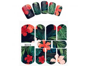 stylove vodolepky na nechty tropic