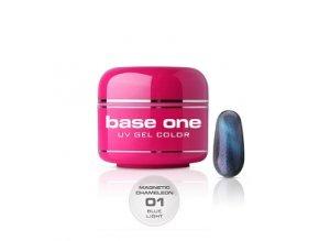 base one magnetic chameleon blue light