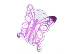 Šablóny na modelovanie nechtov motýlik 100ks