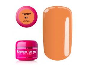 base one color 51 light orange