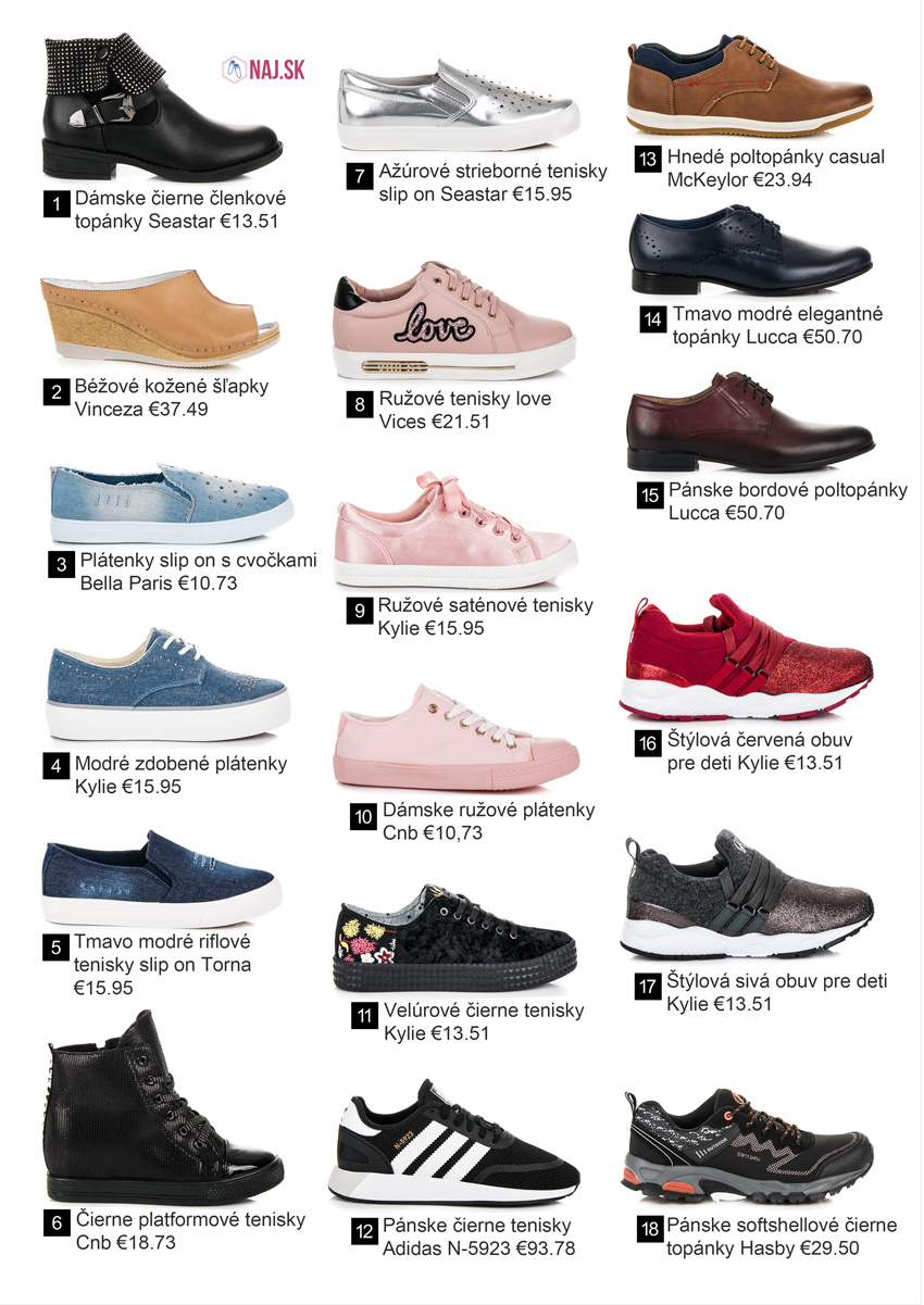 Nová jarná kolekcia obuvi