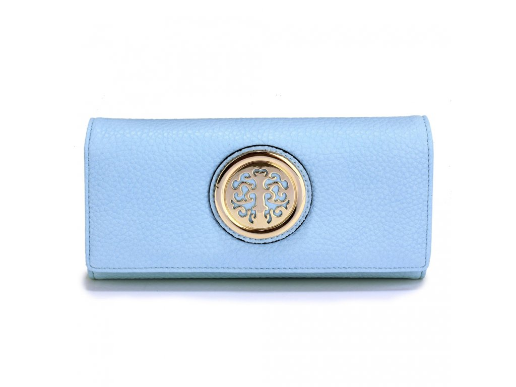 Matné peňaženky s ozdobou