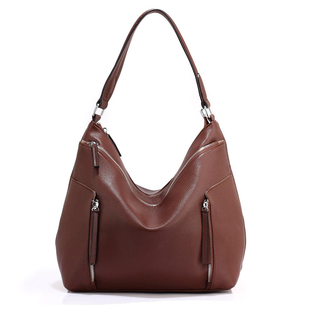 Výpredaj Jednofarebné matné kabelky na rameno
