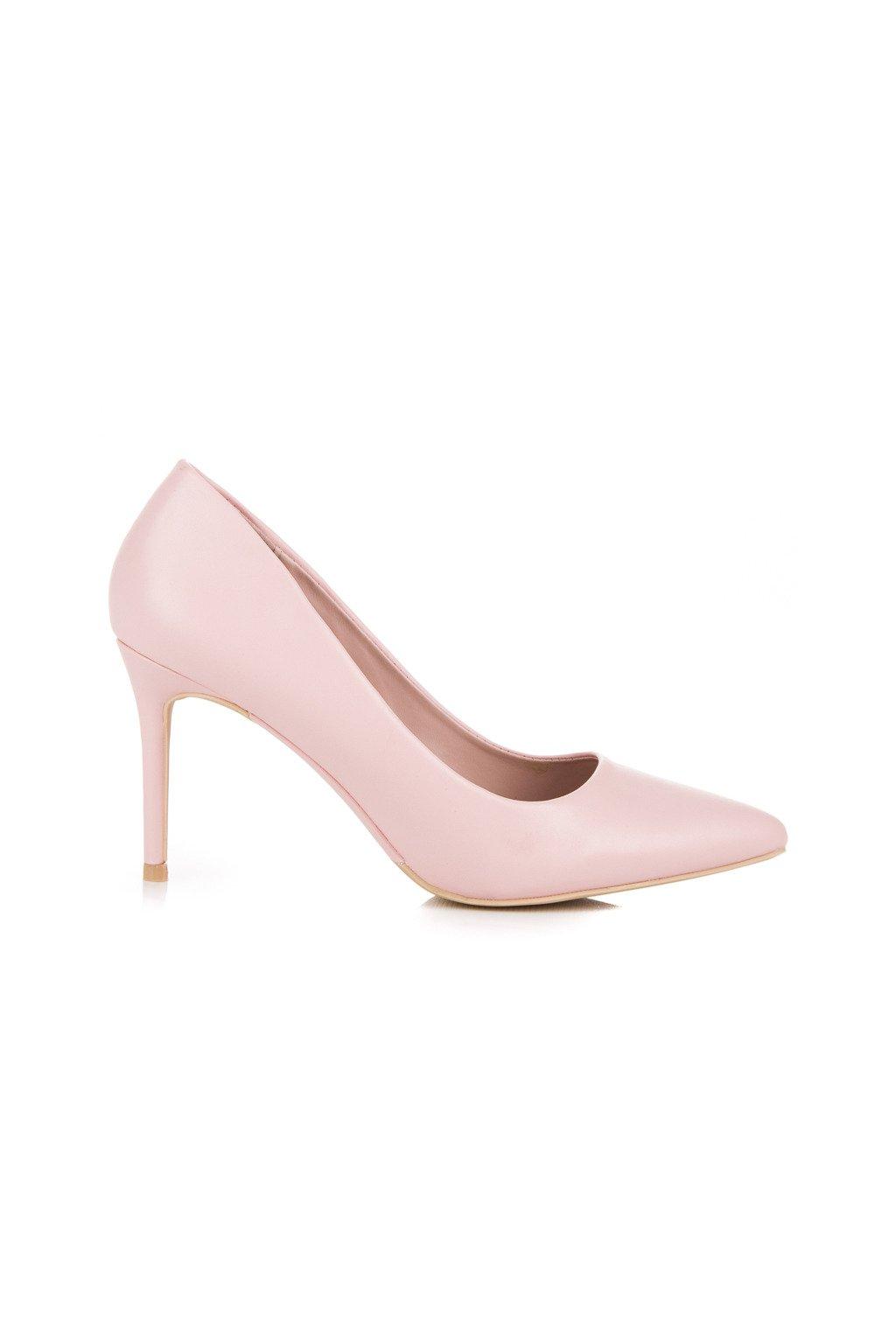 Ružové pastelové lodičky Vices 1403-20P