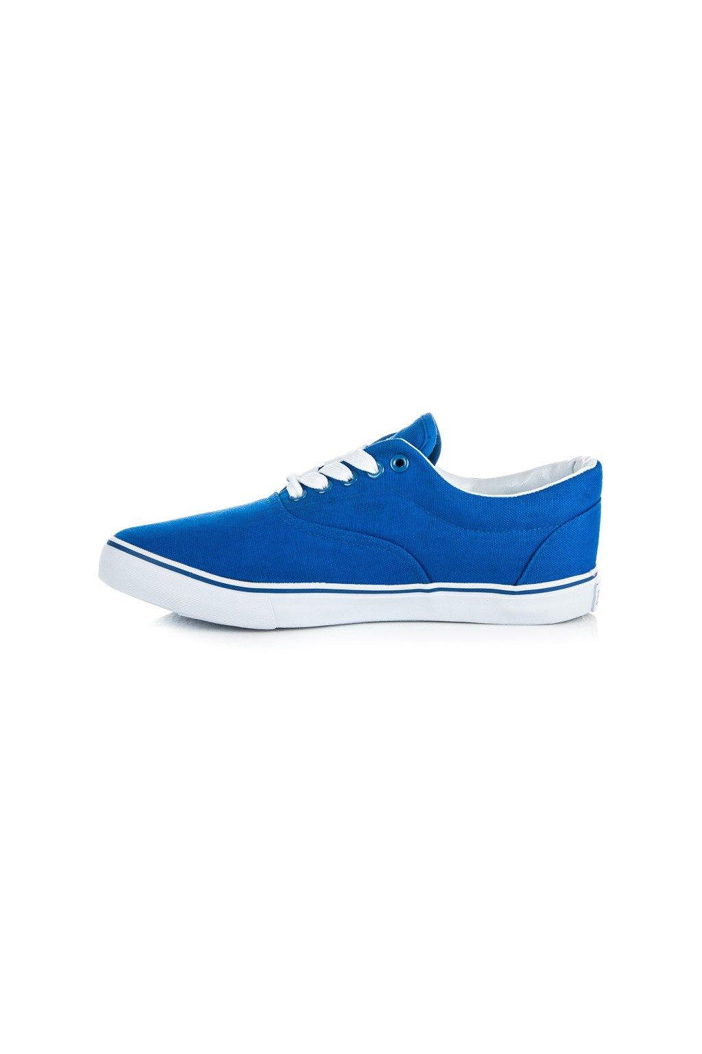 Plátené tenisky modré New Age 086BL  6afaa8b6293