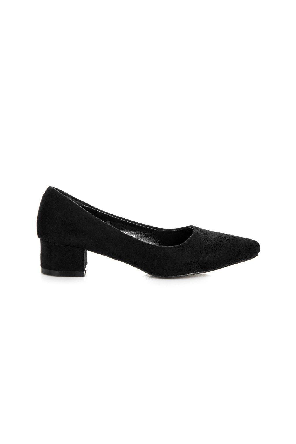 vstupná lekárska prehliadka tlačivo 2014 Semišové čierne lodičky Best Shoes 3A3B