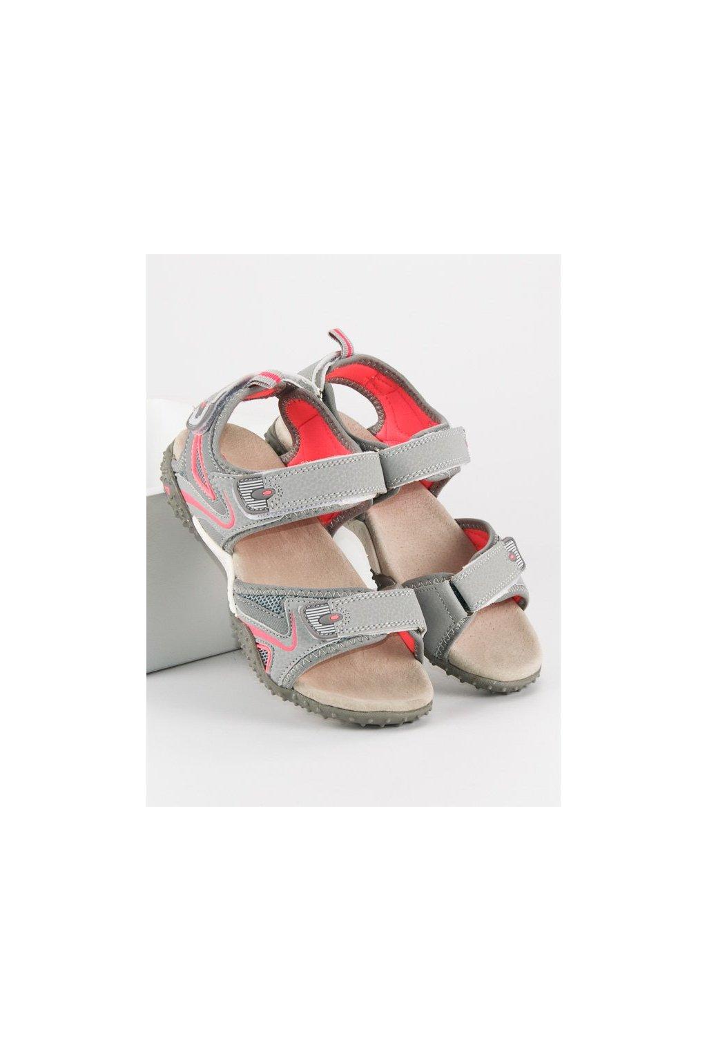 Detské sivé sandále HHS1707G