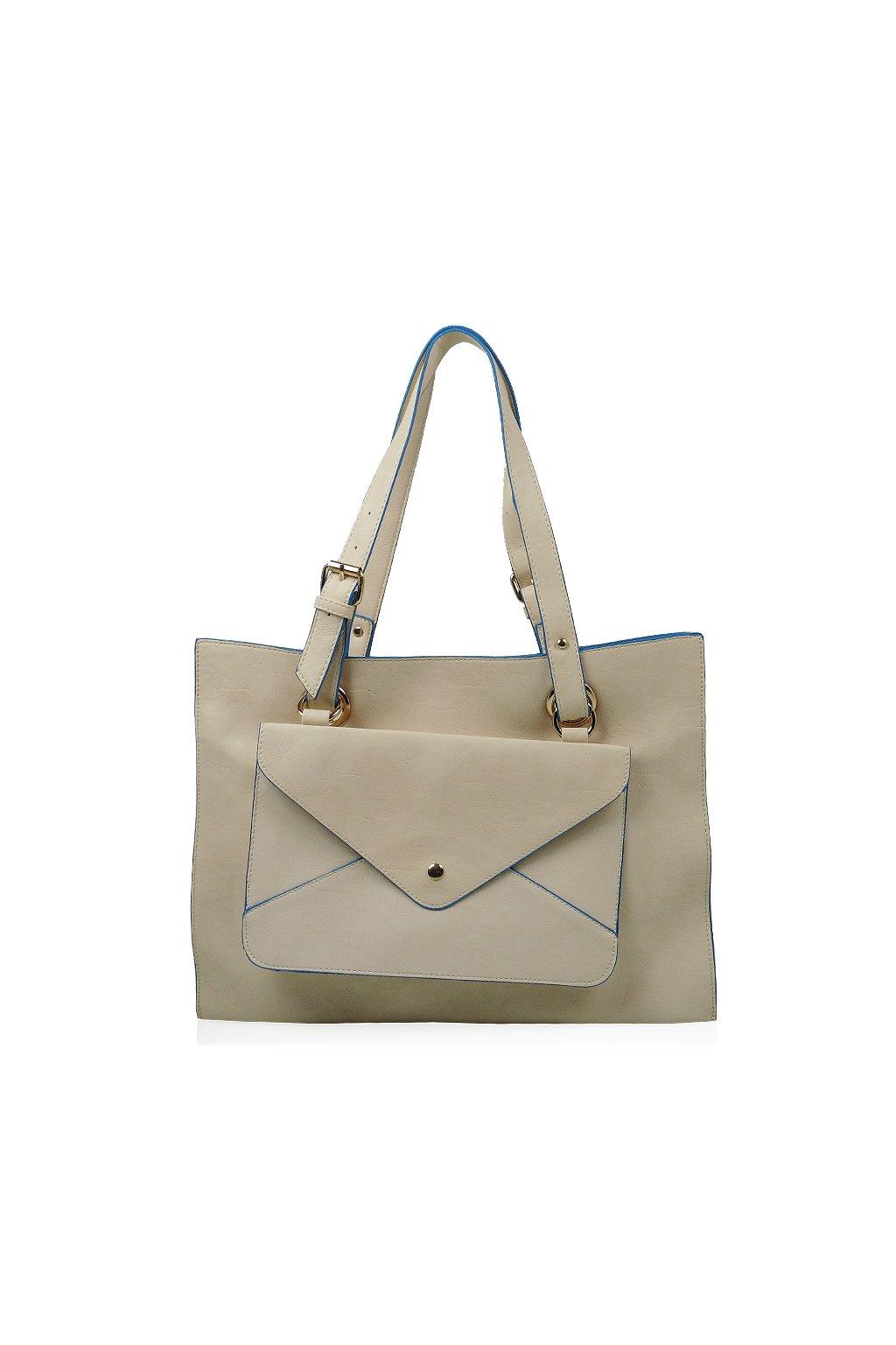 Béžová kabelka Just Glamour  65f85c4bc29