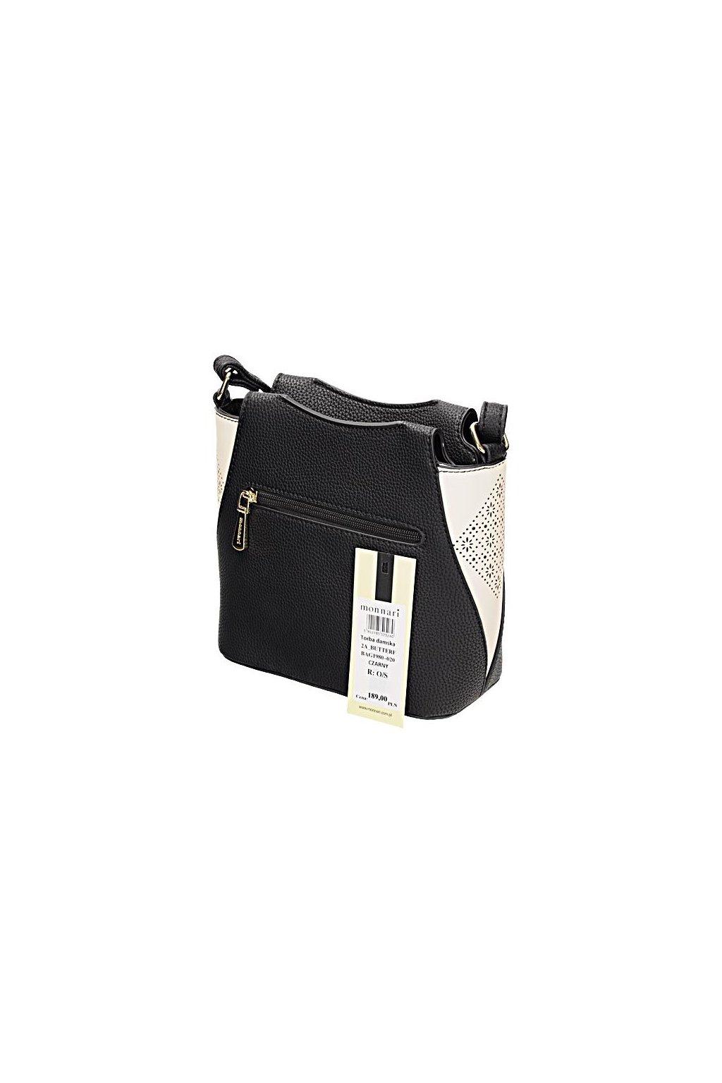 Čierna crossbody kabelka MONNARI BAG 1980-020 W18  33194187707