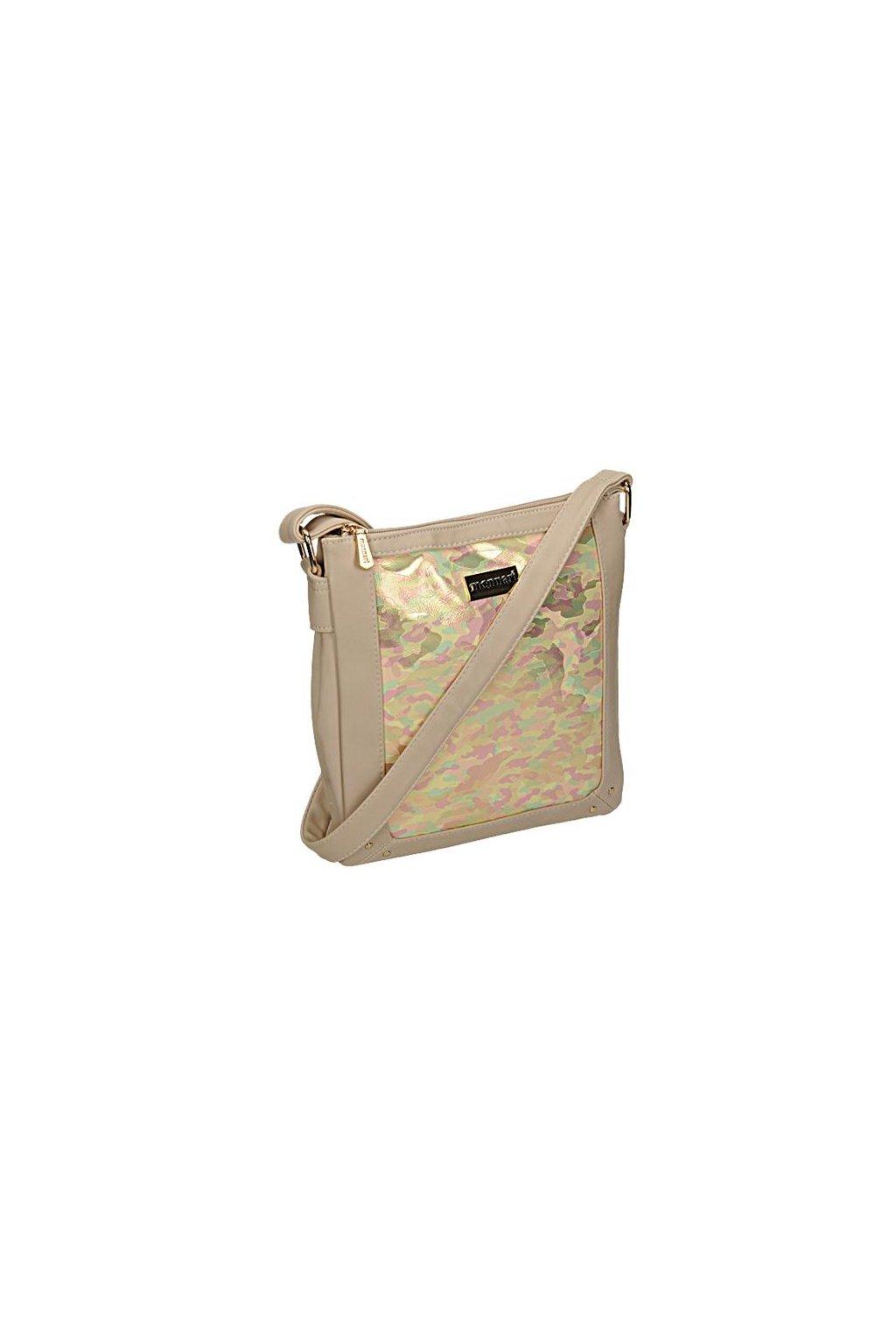 Béžová crossbody kabelka MONNARI BAG 1690-015 W18
