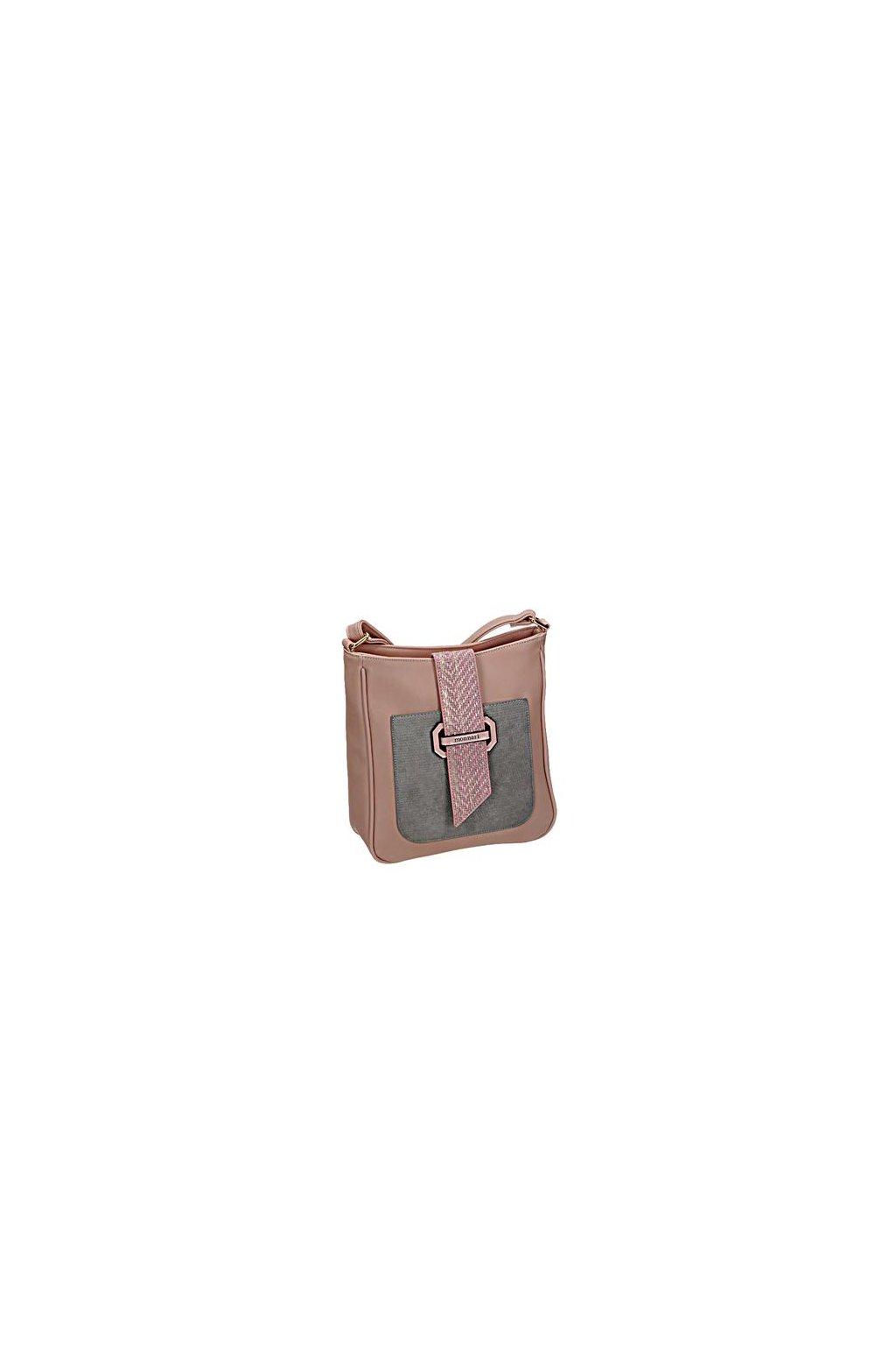 Ružová crossbody kabelka MONNARI BAG 0170-004 W18  cd19ae84a43