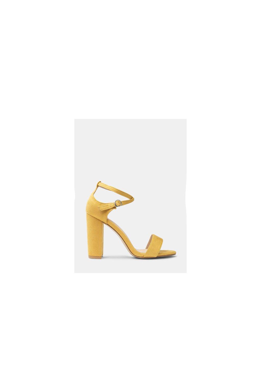 773bf83d4b Žleté sandále na opätku Courie ako extrahovať