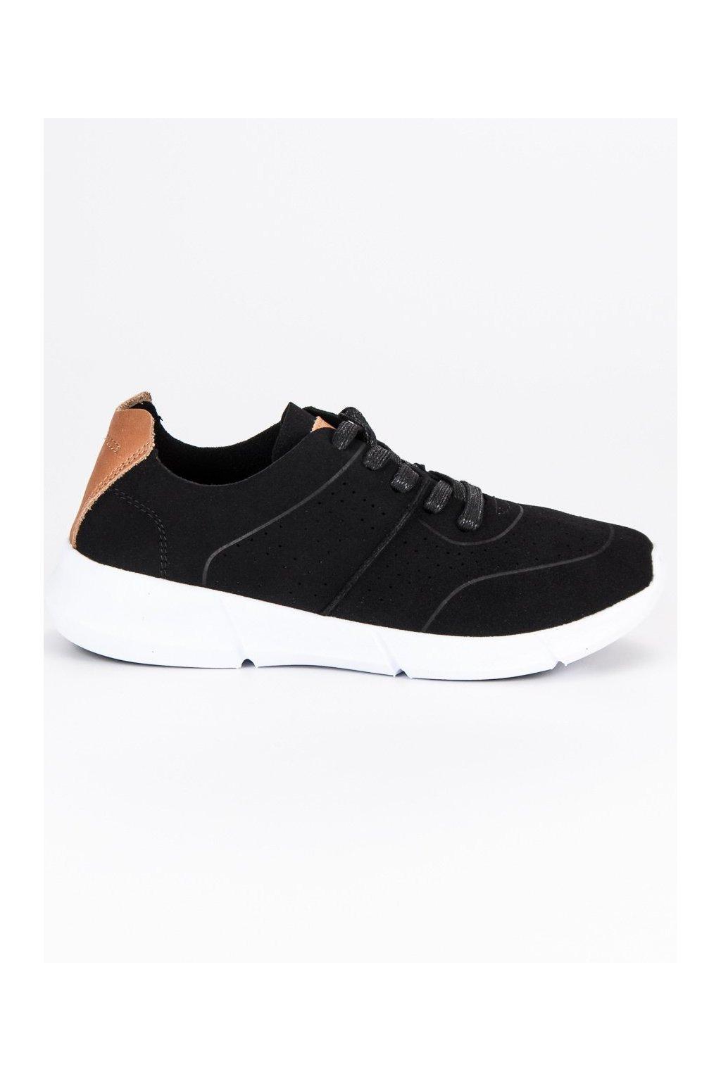 93ee84e43a Dámske čierne botasky Filippo